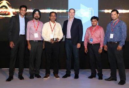 Umbrella Infocare Wins AWS Rising Star Award 2016