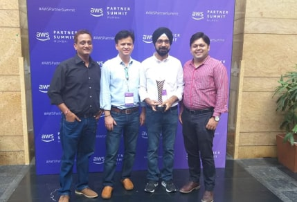 Umbrella Awarded 'AWS Consulting Partner of the Year 2019 India'