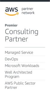 AWS Premier Consulting Partner